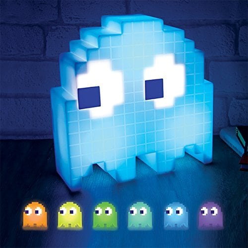 Pacman Ghost Light and more Gifts for Geeks