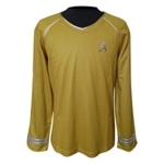 Captain Kirk Star Trek Uniform