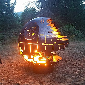 Custom Designed Death Star Fire Pit