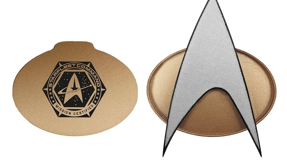 Star Trek Tng Starfleet Communicator Badge Geek Hut