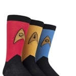 Star Trek Uniforms Cotton Socks
