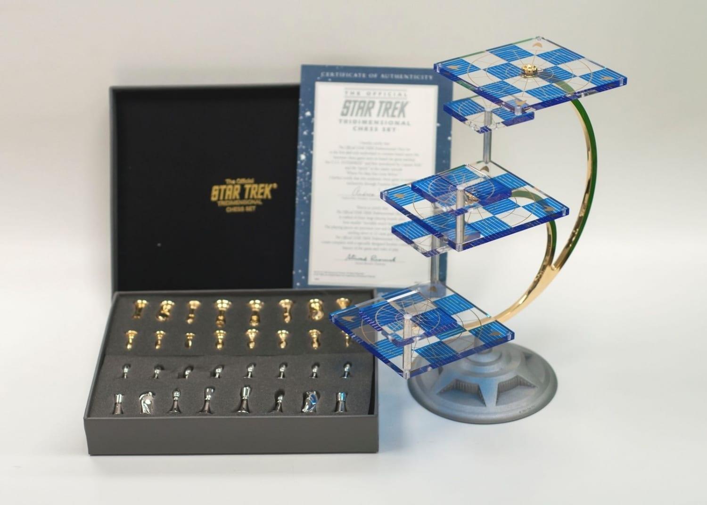 Star Trek Tri D Chess Set