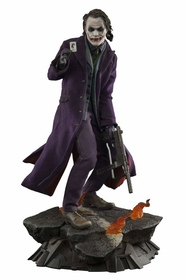 Heath Ledger as The Joker the Dark Knight Figure