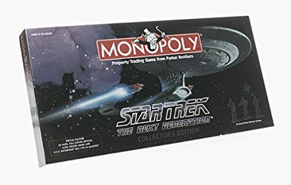 Star Trek: The Next Generation Monopoly (Collector's Edition)