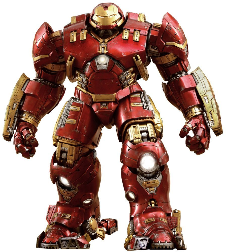 Hot Toys Iron Man Hulkbuster : Age of Ultron - Movie Masterpiece Series 1/6 Sixth Scale Action FigureAction Figure