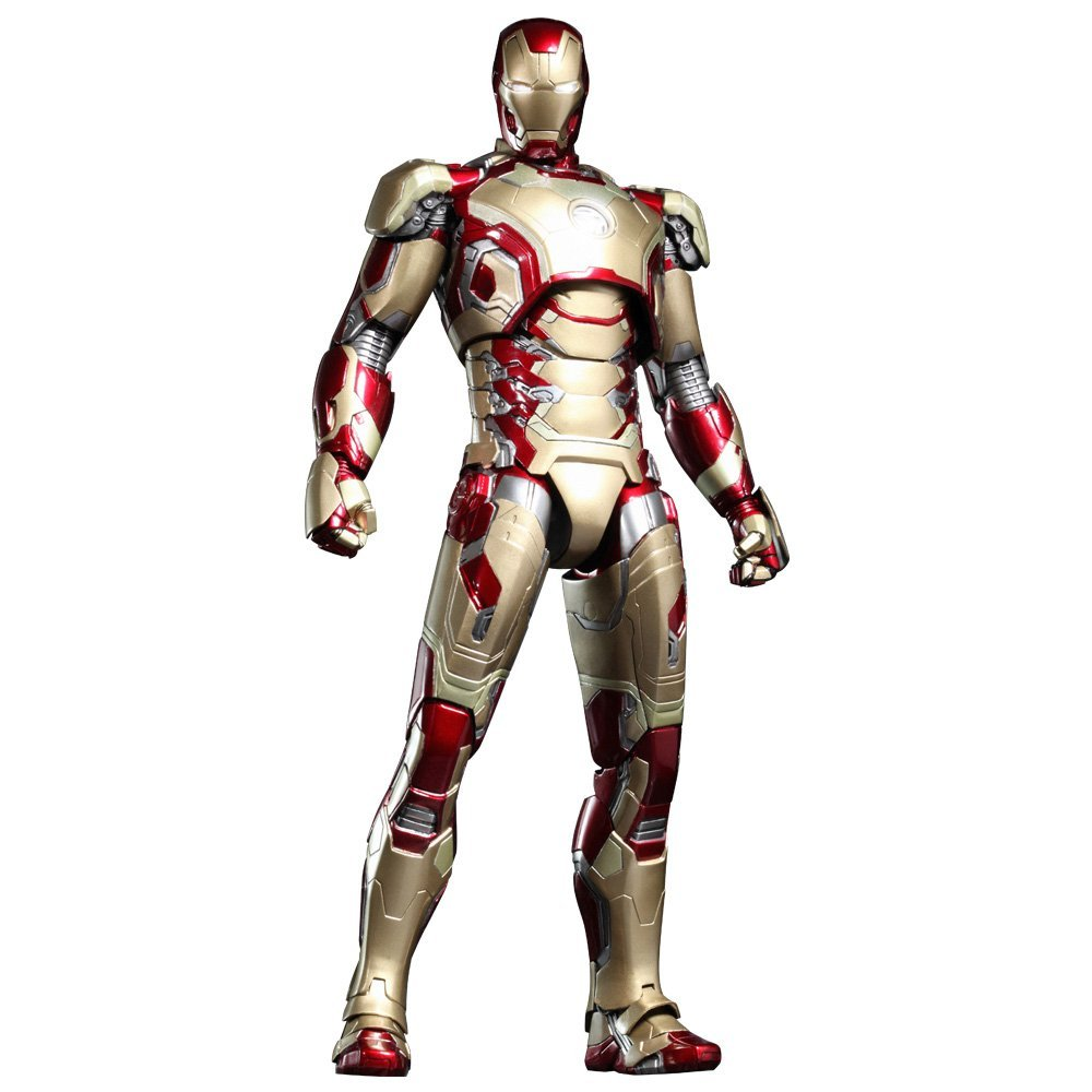Iron Man Mark 42 XLII - Hot Toys figure from MCU Movie.