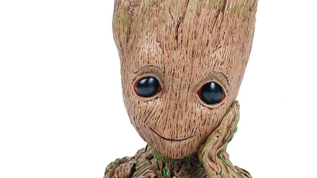 Super Cute Baby Groot Plant Pot