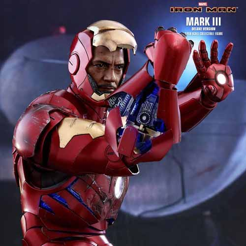 Hot Toys Iron Man Mark 3 Deluxe 1/4 Scale Figure