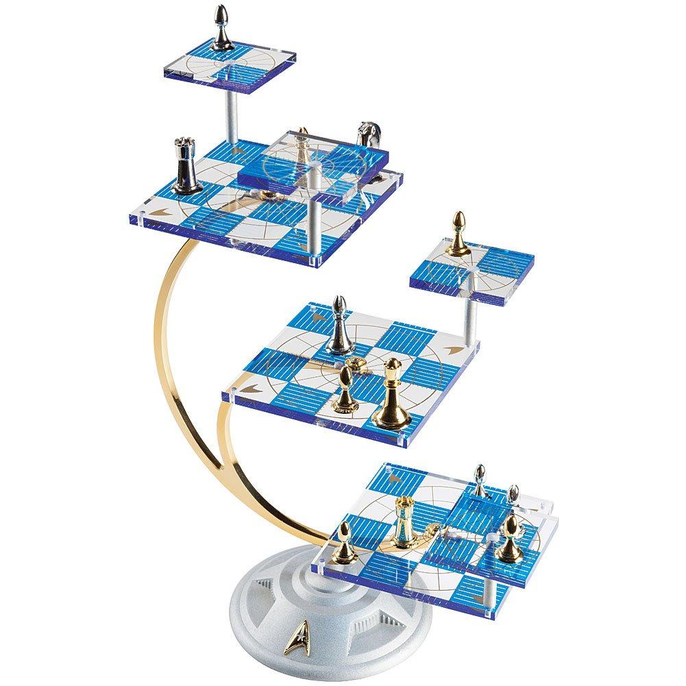 The Franklin Mint Star Trek Tri-Dimensional Chess Set