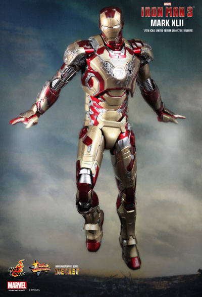 Hot Toys Iron Man Extremis from Iron Man 3