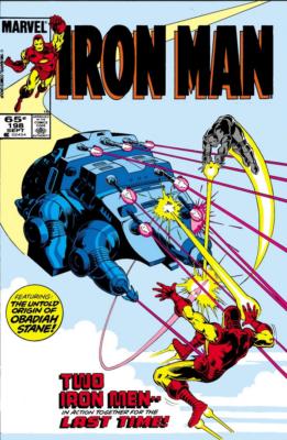 Iron Man 198 - Iron Monger Saga