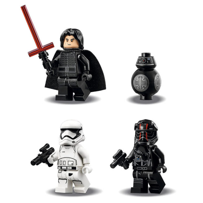 The Last Jedi Kylo Ren LEGO Minifigure