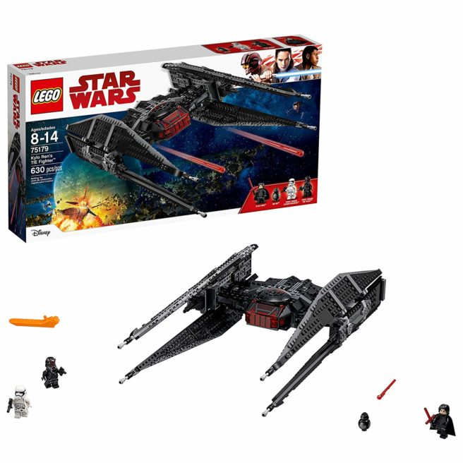 LEGO Star Wars Kylo Ren TIE Fighter Box