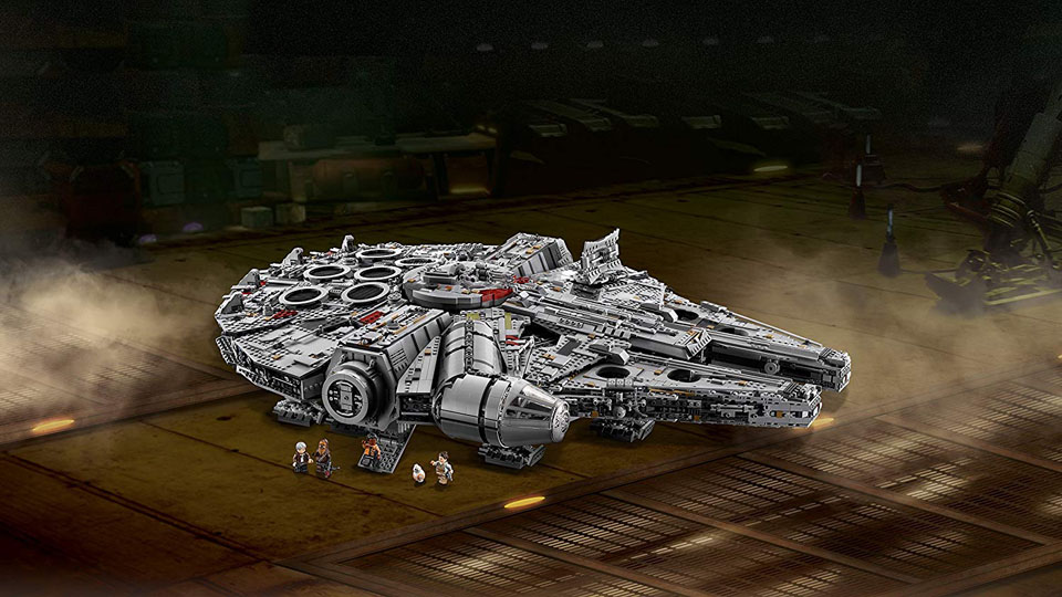 The Ultimate Collectors Series Millennium Falcon Lego set