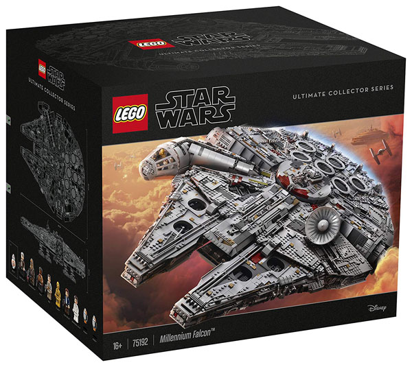 Ultimate Collector's Lego Millennium Falcon 75192