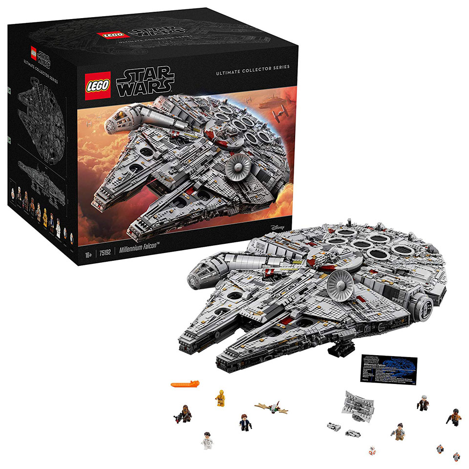 Star Wars 75192 Millennium Falcon Lego Set 2017 Edition UCS (Ultimate Collector Series)