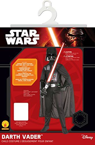 Rubies official Disney Darth Vader Halloween Costume for Kids