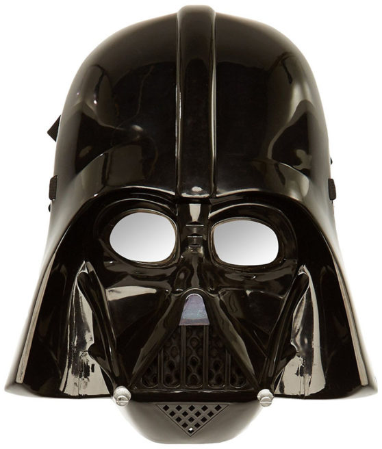 Rubies official Disney Darth Vader Halloween costume mask
