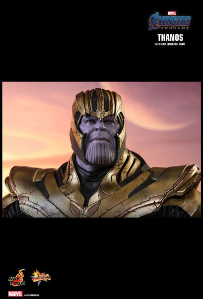 Thanos Hot Toy 1/6 Scale Figure from Avengers Endgame