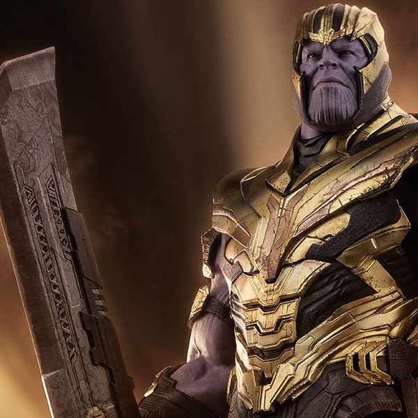 Thanos Hot Toys from Avengers Endgame 600x600