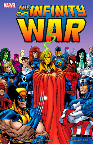 Infinity War Comic Book