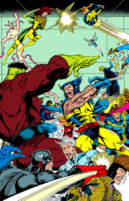 The Infinity War - X Men Join The Avengers