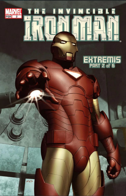 Iron Man Extremis Part 2 - Iron Man Vol 4 Issue 2
