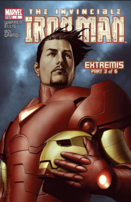 Iron Man Extremis Part 3 - Iron Man Vol 4 Issue 3