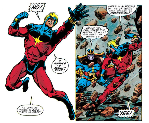 The Death Of Captain Marvel - Would You Deny The Infinite?