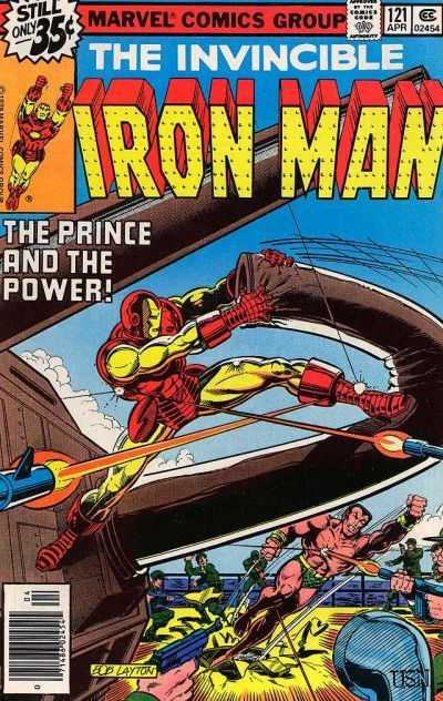 Iron Man 121 Demon In A Bottle