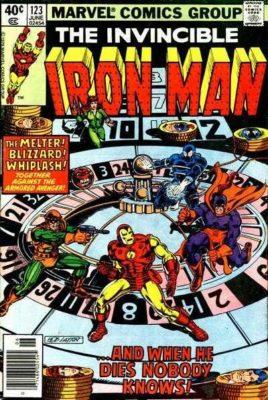 Iron Man 123 Demon In A Bottle