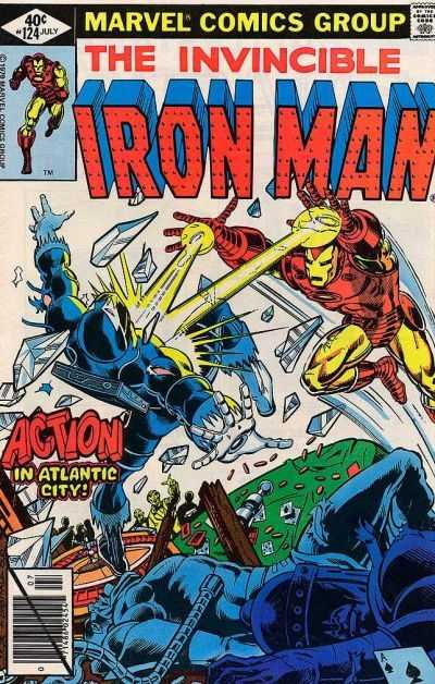 Iron Man 124 Demon In A Bottle