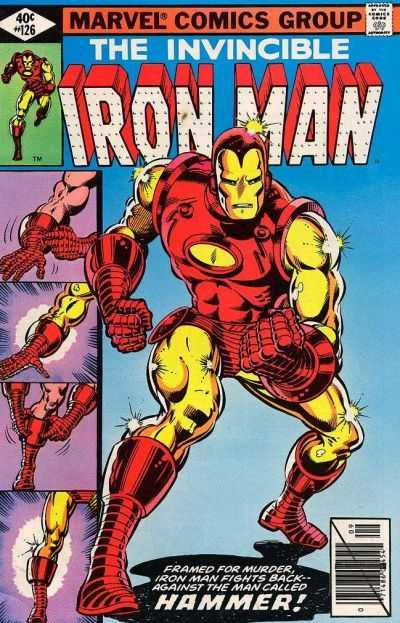 Iron Man 126 Demon In A Bottle