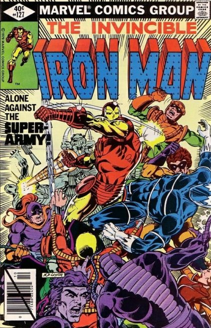 Iron Man 127 Demon In A Bottle