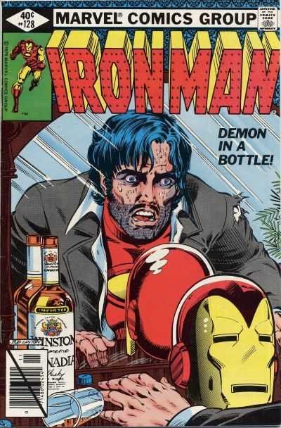 Iron Man 128 Demon In A Bottle