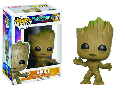 Live-size Baby Groot POP! Marvel 202