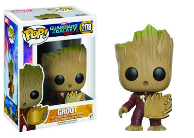 Baby Groot With Patch POP! Marvel 208