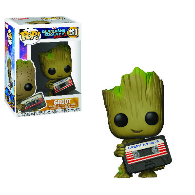 Groot With Mixtape POP! Marvel 260