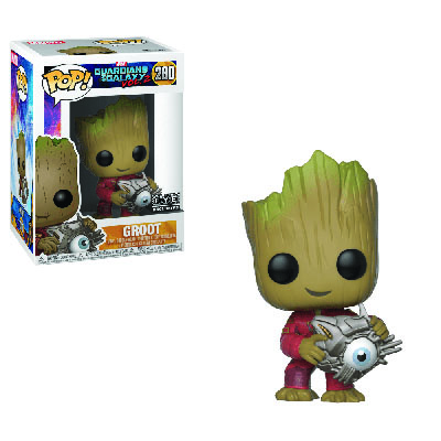 Baby Groot With Cyber Eye Funko  POP! Marvel 280