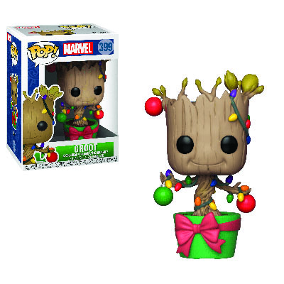 Holiday Groot With Lights & Ornaments POP! Marvel 399
