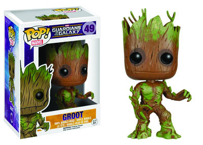 POP! Marvel 49 Guardians of the Galaxy Groot