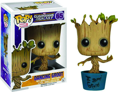 Funko POP! Marvel 65 Dancing I am Groot