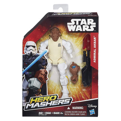 Admiral Ackbar Star Wars Hero Mashers Box