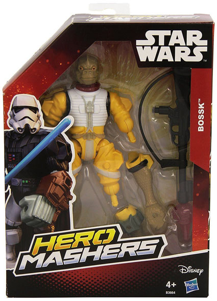 Bossk Star Wars Mashers Figure Box