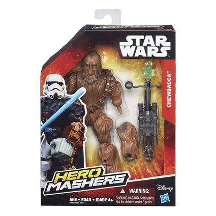 Chewbacca Star Wars Hero Mashers Box