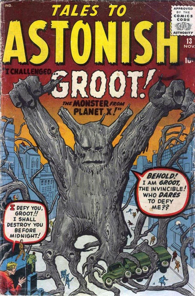 Groot in Tales To Astonish