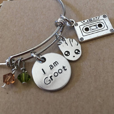 Treat someone With A Gift I am Groot Bracelet