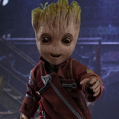 Hot Toys Baby Groot - Guardians of the Galaxy Vol.2 - Life Sized Figure