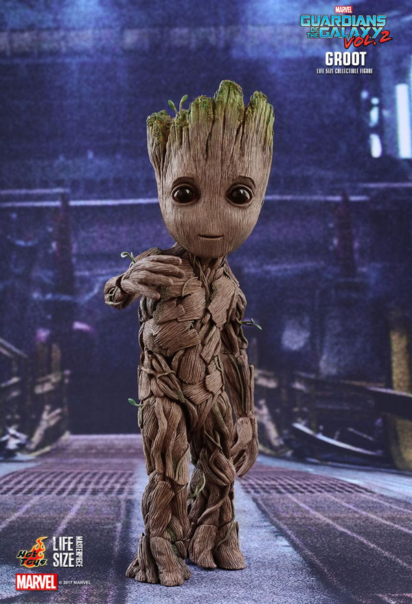 Full Size Groot from Guardians of the Galaxy Vol 2 movie