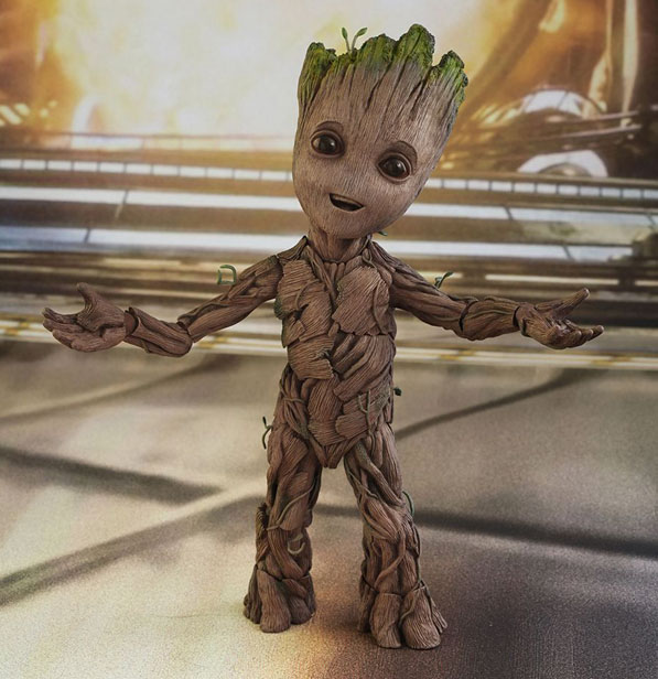 Hot Toys Baby Groot from Guardians of the Galaxy Vol.2 - Life Size Figure